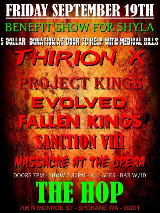 Fallen Kings, Massacre at the Opera, Sanction VIII, Thirion X, Evolved, The Project Kings.
