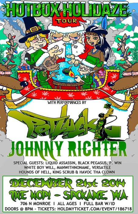 Pot Luck, Johnny Richter of the Kottonmouth Kings, Liquid Assassin, Cool Nutz