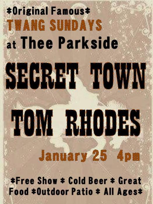 Secret Town, Tom Rhodes