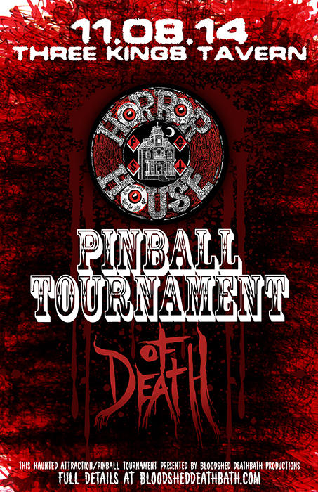 HORROR HOUSE FEST 2014-PINBALL TOURNAMENT OF DEATH!!!