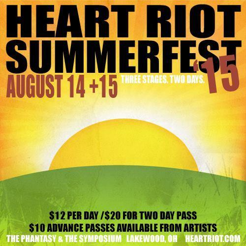 HEART RIOT SUMMERFEST 2015