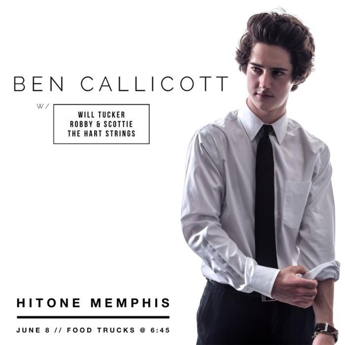 Ben Callicott w/ Will Tucker Scottie and Robby & The Hart Strings