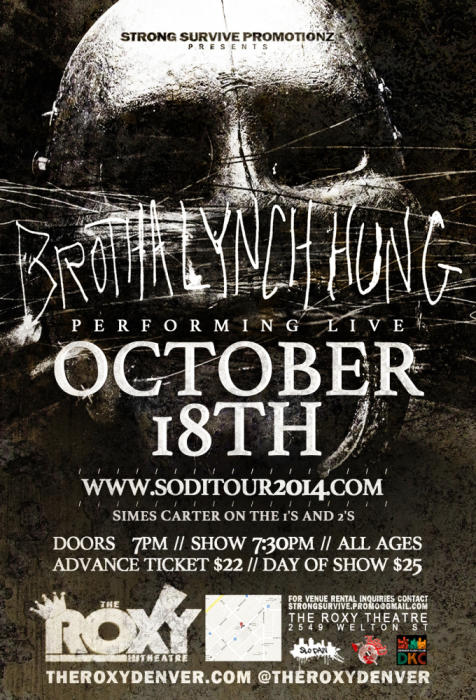Brotha Lynch Hung Sicc Of Da Industry Tour