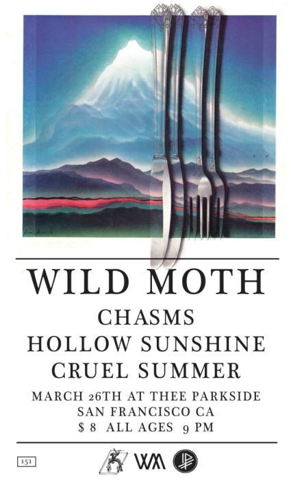 Wild Moth, Chasms, Hollow Sunshine, Cruel Summer