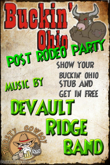 BUCKIN OHIO POST RODEO PARTY