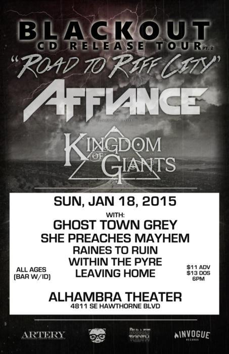 AFFIANCE, KINGDOM OF GIANTS,