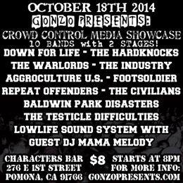 CMM  showcase The Industry,Warlords,Civilians,Down for Life,Hardknocks