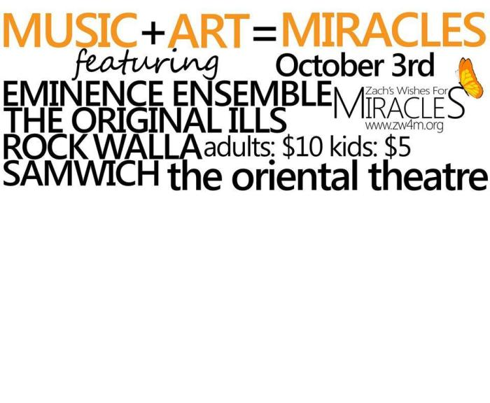 Music + Art = Miracles