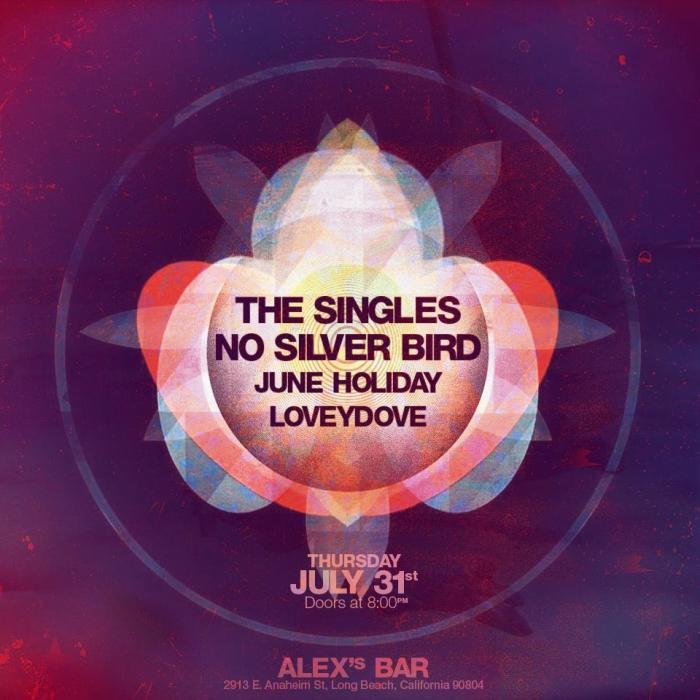 THE SINGLES, NO SILVER BIRD, JUNE HOLIDAY, LOVEY DOVE