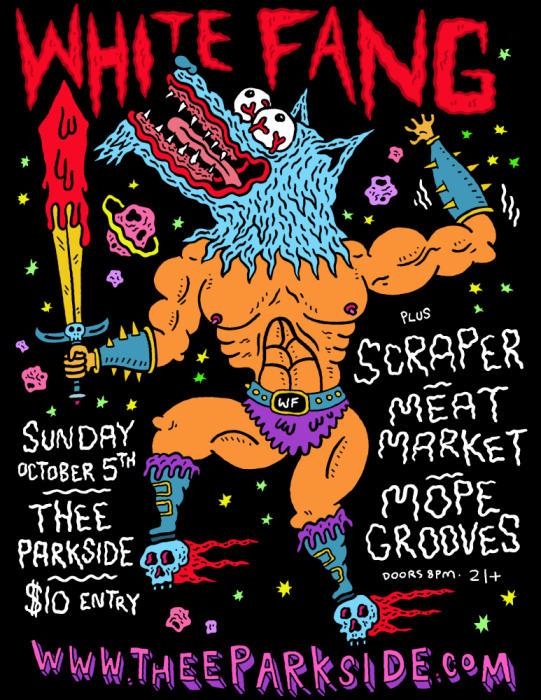 White Fang, Scraper, Meat Market, Mope Grooves