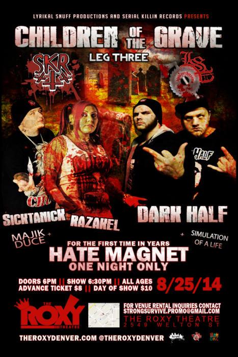 Children Of The Grave Feat. SKR, Hate Magnet and Dark Half