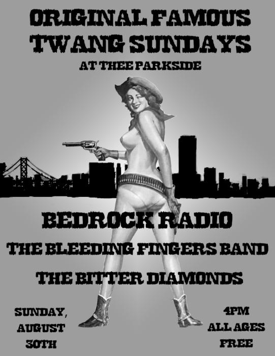 Bedrock Radio, Bleeding Fingers Band, The Bitter Diamonds
