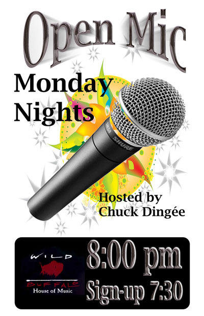 Open Mic ft. Chuck Dingee