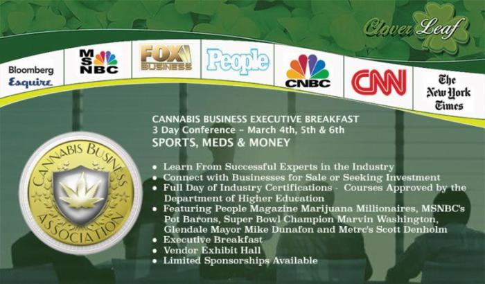 Cannabis Business Executive Breakfast: Sports, Meds & Money