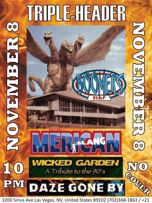 Merican Slang ~ Wicked Garden ~ Daze Gone By ~ FREE SHOW