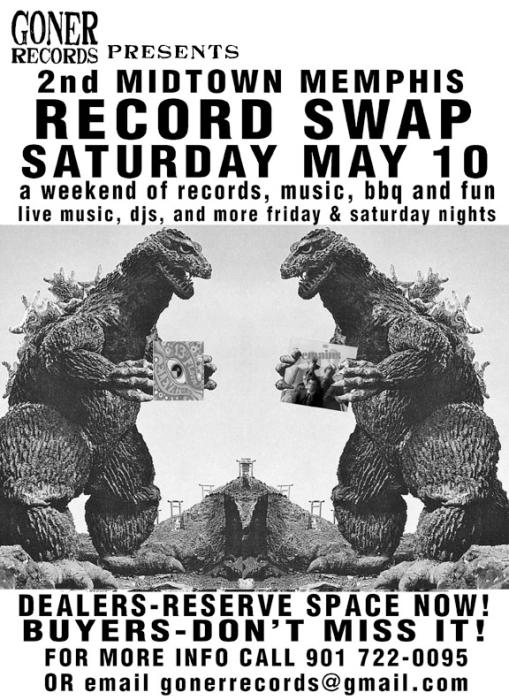 Goner Records Present: 2014 Midtown Memphis Record Swap