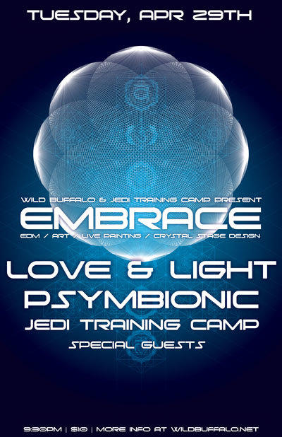 Embrace ft. LOVE AND LIGHT, Psymbionic