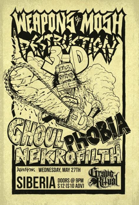 GHOUL | PHOBIA | Nekrofilth | Grave Ritual