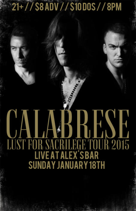 CALABRESE, THE REQUIEM, WITH SPECIAL GUESTS