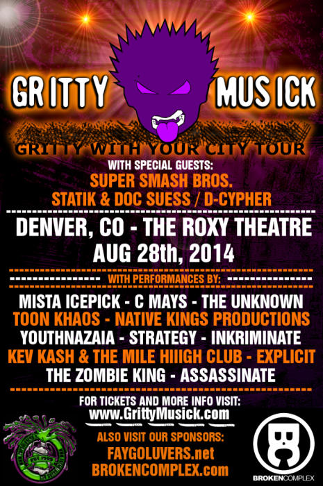 Gritty With Your City Tour