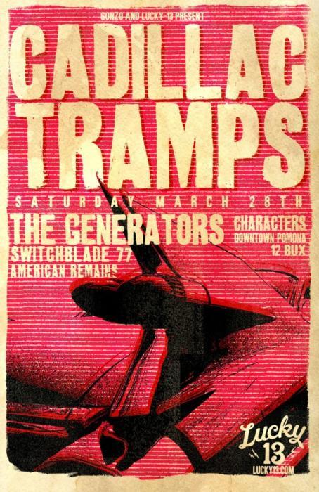 CADILLAC TRAMPS & The Generators