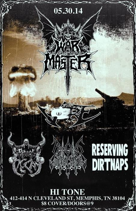 War Master, Vore, Ritual Decay, Process of Suffocation, Reserving Dirtnaps