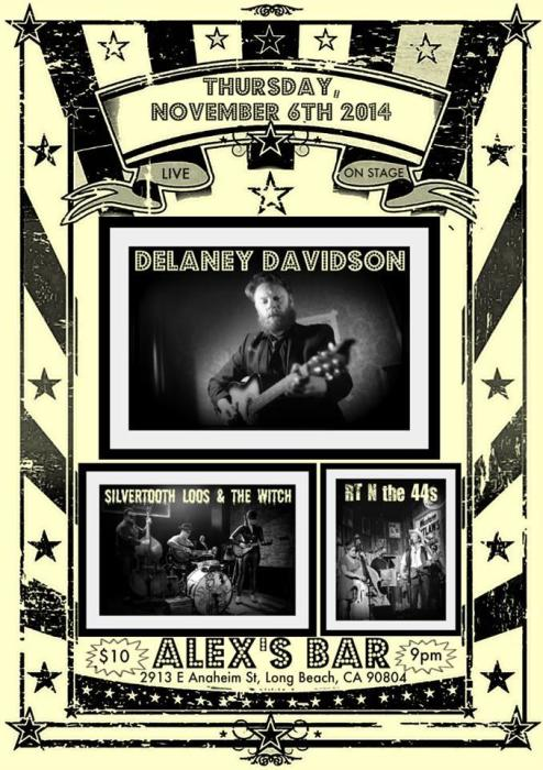 DELANY DAVIDSON, SILVERTOOTH LOOS & THE WITCH, RT N THE 44S
