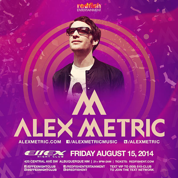 ALEX METRIC at #LivingStereo