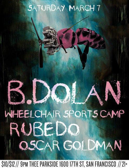 B. Dolan, Wheelchair Sports Camp, Rubedo, Oscar Goldman