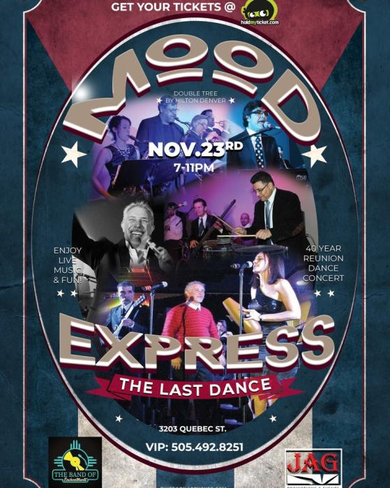The Last Dance The Mood Express @ Double Tree by Hilton denver, CO -  November 23rd 2019 7:00 pm