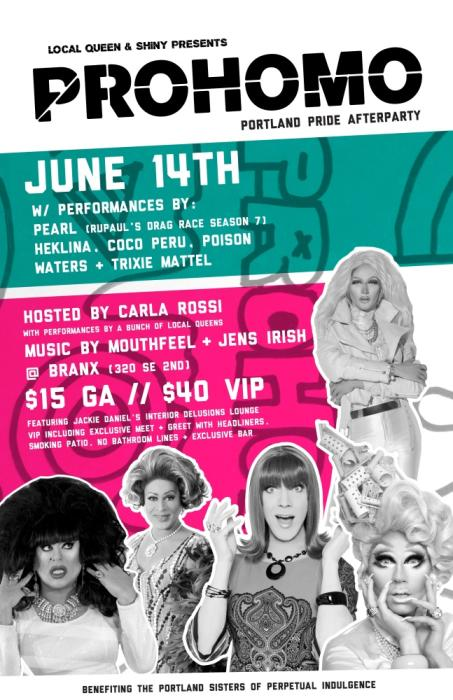 PROHOMO: Portland Pride After Party!