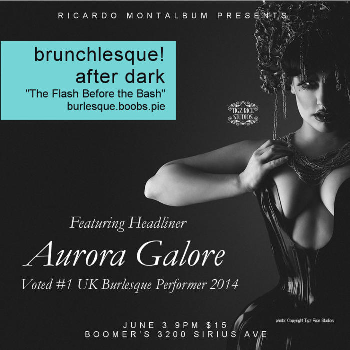 Brunchlesque! After Dark - The Flash Before the Bash!