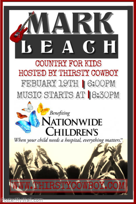 """COUNTRY FOR KIDS W/ """"MARK LEACH"""""""