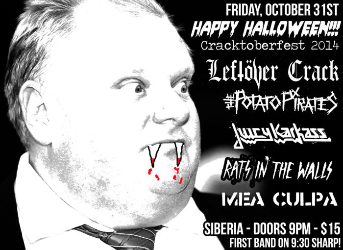 LEFTOVER CRACK | Potato Pirates | Juicy Karkass | Rats in the Wall | Mea Culpa
