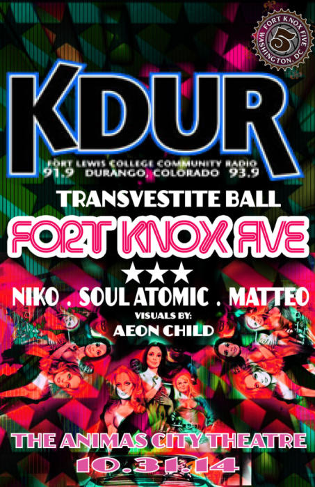 KDUR TRANSVESTITE BALL | FORT KNOX FIVE