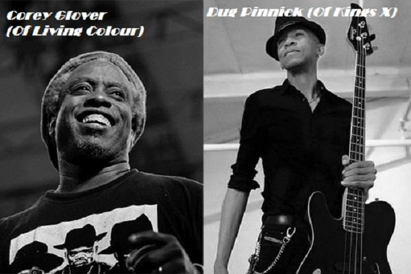 Corey Glover (Of Living Colour) / Dug Pinnick (Of Kings X) / John Lancaster