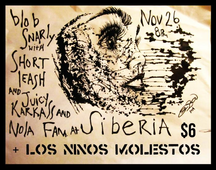 JUICY KARKASS | Short Leash | NOLAFAM | Blob Snarly | Los Ninos Molestos