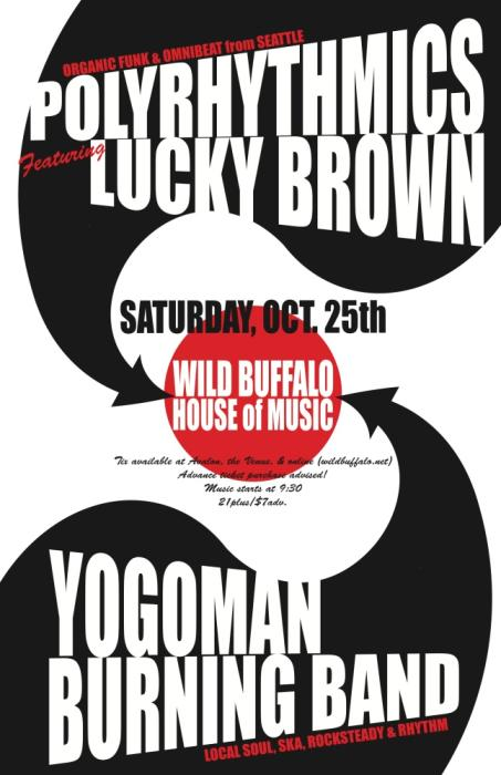 Polyrhythmics with Lucky Brown, Yogoman Burning Band