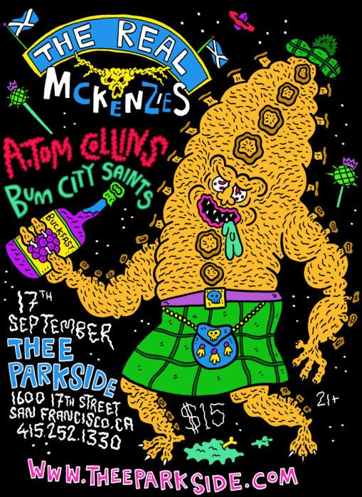 The Real McKenzies, A. Tom Collins, Bum City Saints