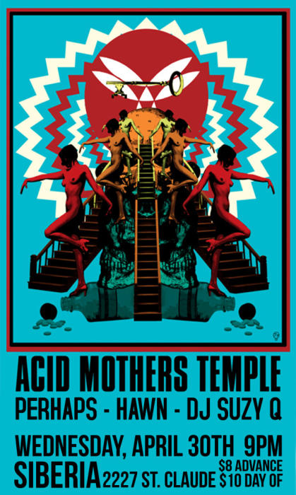 Acid Mothers Temple | PERHAPS | Hawn | DJ Suzy Q