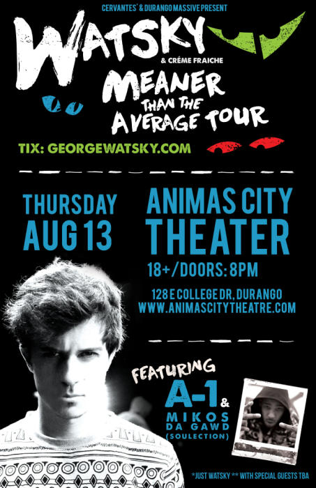 Watsky w/ A-1 and Special Guests
