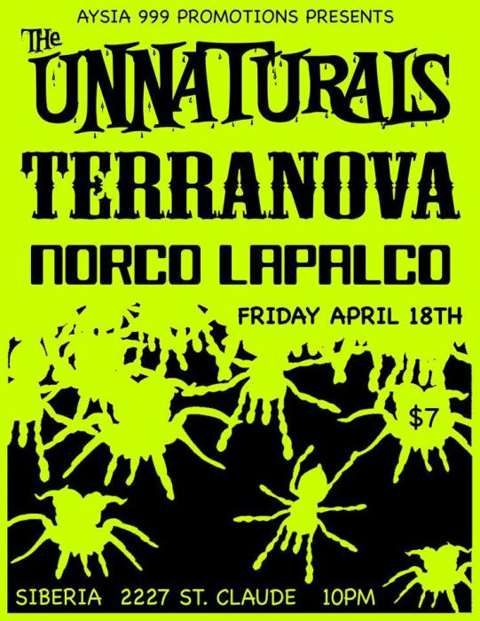 The Unnaturals | Terranova | Norco Lapalco