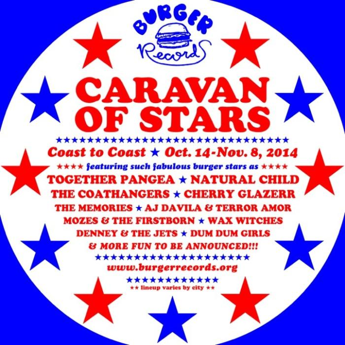 Burger Caravan feat. Natural Child, together Pangea, Mozes & The Firstborn, Denney and The Jets, AJ Davila & Terror Amor