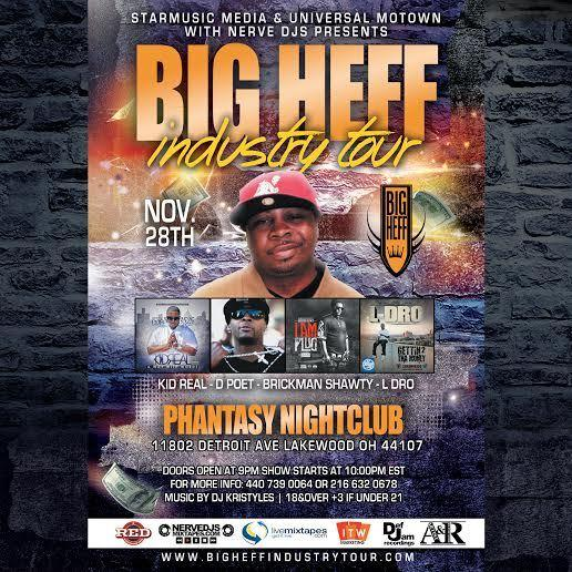 BIG HEFF INDUSTRY TOUR