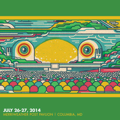 Phish webcast - live from the Merriweather Post Pavilion