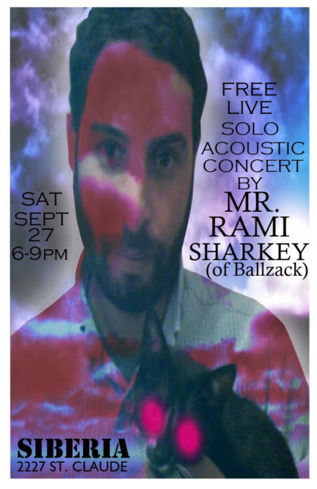Rami Sharkey (Ballzack) Solo Happy Hour