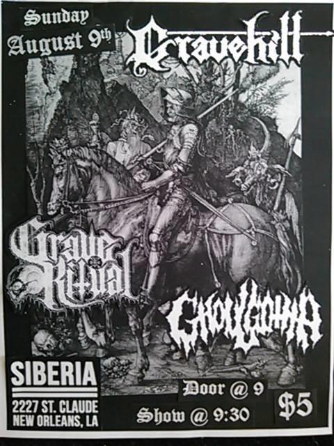 GRAVEHILL   Ghoulgotha   Grave Ritual