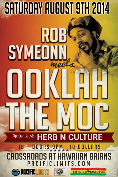 Rob Symeonn, Ooklah The Moc, Herb N Culture