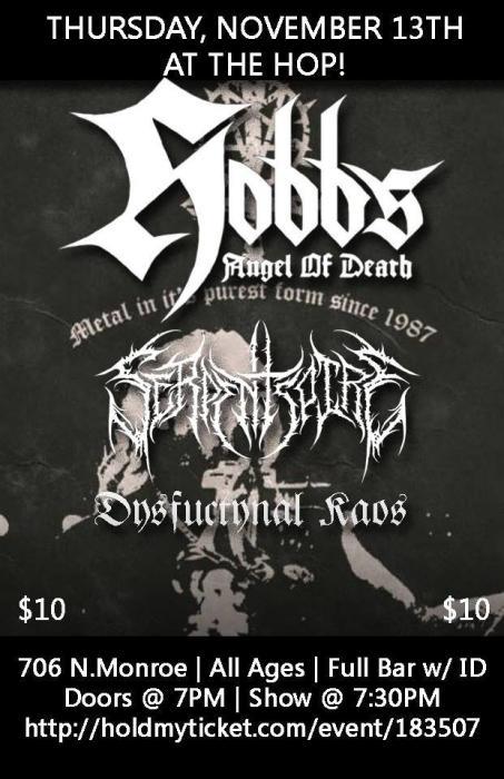 Hobbs Angel of Death, Serpentspire, Dysfunktynal KAOS