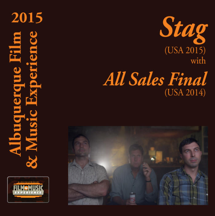 Stag (USA 2015) With All Sales Final (USA 2014) / Junk Girl (Iran 2014) / The Shipmate (USA 2014) / Stella Walsh (USA 2014) / Ballad of the Boatman (USA 2014)